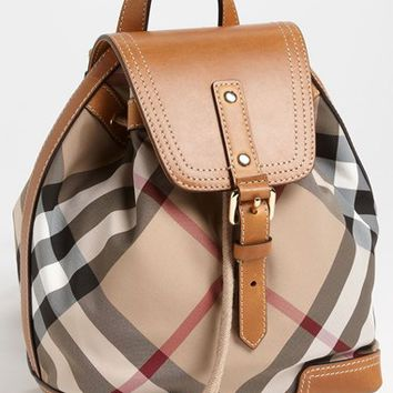 Girl's Burberry 'Dennis - Small' Backpack