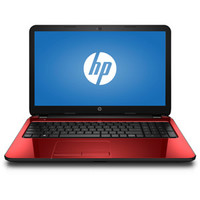 "Walmart: HP Flyer Red 15.6"" 15-R132WM Laptop PC with Intel Pentium N3540 Processor, 4GB Memory, 500GB Hard Drive and Windows 8.1"