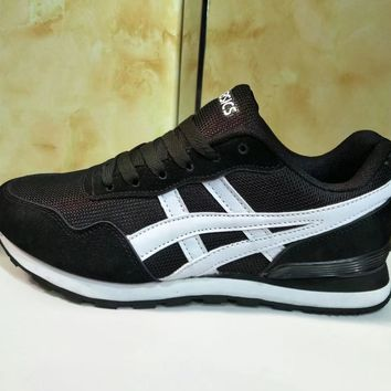 """Asics"" Men Sport Casual Retro Fashion Multicolor Sneakers Running Shoes"