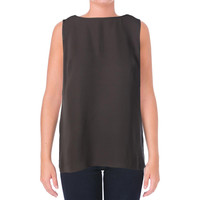 Lafayette 148 New York Womens Knit Solid Pullover Top