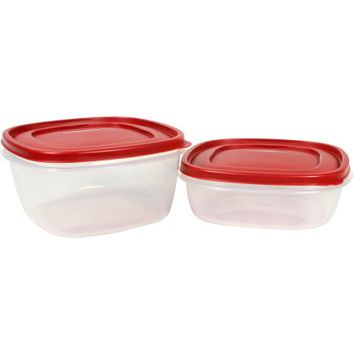 Rubbermaid Easy Find Lids 14 Cup 9 Cup Value Pack - Walmart.com