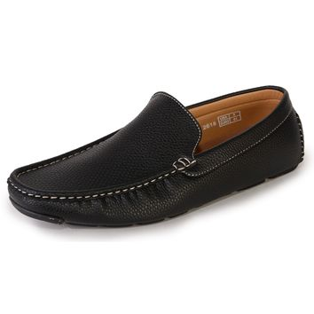 Quentin Asford Pebble Grain Men's Driving Shoe