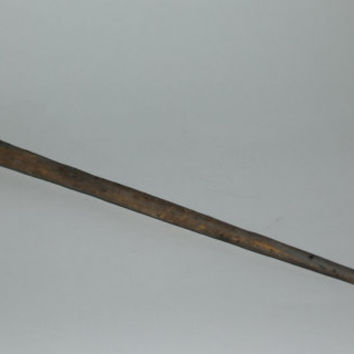 Primitive Wood Spindle Antique Peasants Spindle Folk Traditions Very Old 1900's