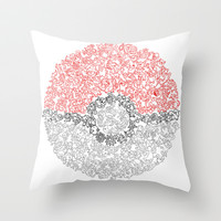 150 pokemon Throw Pillow by Shepaki