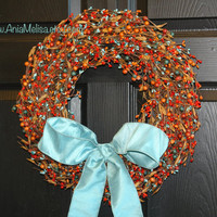 pip berry fall wreaths berries wreaths welcome weddings wreaths front door wreaths fall decor Thanksgiving wreaths