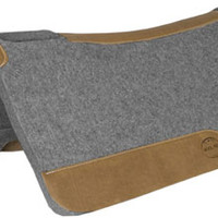 "Saddles Tack Horse Supplies - ChickSaddlery.com Mustang 1"" Wool Contour Pad"