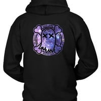 DCCK7H3 Ghost Town Band Logo Galaxy Hoodie Two Sided