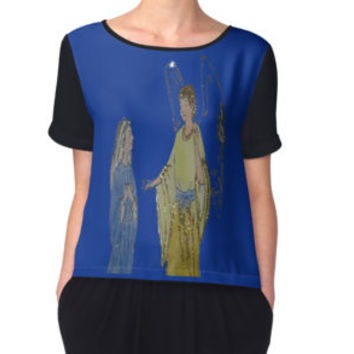 'Archangel Gabriel and Maria' Blusa by andrealeyton
