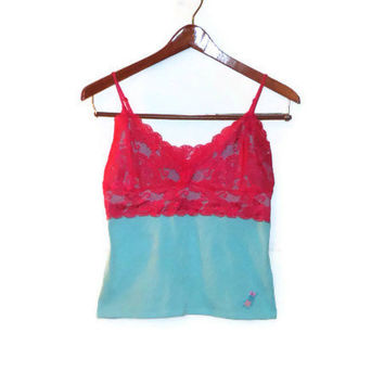 Small/Medium Easter Bunny Pastel Nighty Camisole