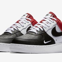 HCXX Nike Air Force 1 Low Mini Swoosh Red, Black & White