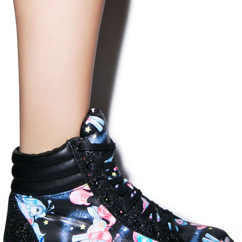 Iron Fist My Little Pony Celestial Sneaker Black