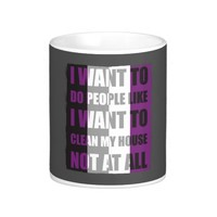 I Want To Do People Not At All Asexual LGBT Pride Classic White Coffee Mug