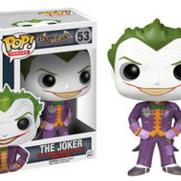POP! HEROES 53: BATMAN: ARKHAM ASYLUM - THE JOKER