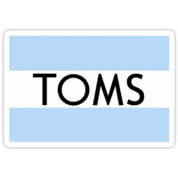'Toms' Sticker by Gloria Lam