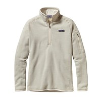 Patagonia Women's Better Sweater® Quarter Zip Fleece | Raw Linen