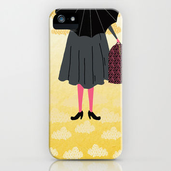Mary Poppins iPhone & iPod Case by Andrea Lauren