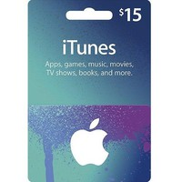 App Store & iTunes Gift Cards - $15