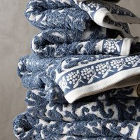 Philippa Towel Collection by Anthropologie in Slate Size: