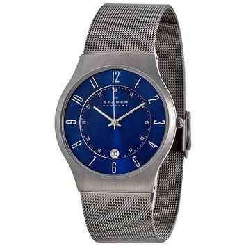Skagen Titanium Steel Mesh Mens Watch 233XLTTN