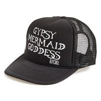 Junior Women's Rip Curl 'Gypsy Goddess' Trucker Hat - Black