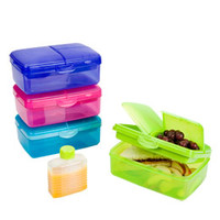 The Container Store > Slimline Quaddie Lunchbox