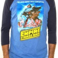 ROCKWORLDEAST - Star Wars, Baseball Jersey Shirt, The Empire Strikes Back