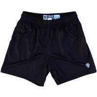 Womens Black Lacrosse Game Shorts