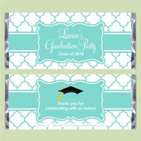 Moroccan Graduation Candy Bar Wrappers