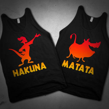 Hakuna Matata BFF shirts and tanks