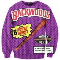 Backwoods Honey Berry Blunts Crewneck