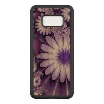Falling in Love Abstract Flowers & Hearts Fractal Carved Samsung Galaxy S8 Case