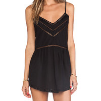 Tularosa London Slip Dress in Black