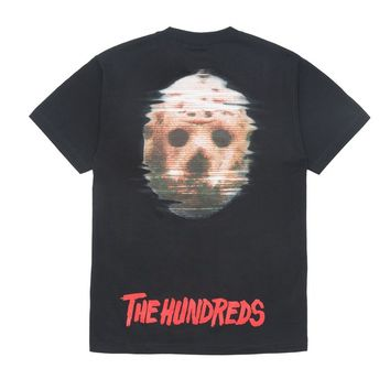 The Hundreds x Friday the 13th Mask Tee - Black