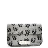 Silver Leather Squirrel Clutch Bag | Little Moose | Cute bags, gifts, toys, jewellery and accessories from independent designers and famous brands