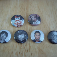 Serial killer Button set by kreepshowkouture on Etsy