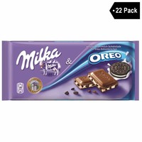 22 Pack Milka Oreo Chocolate (3.5 oz. x 22)
