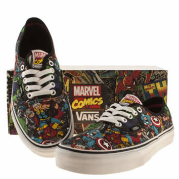 Mens Multi Vans Authentic Marvel Avengers Trainers | schuh