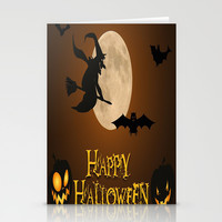 HAPPY HALLOWEEN Stationery Cards by Acus