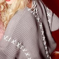 Pullover Autumn V-neck Fashion Sweater [22395650074]