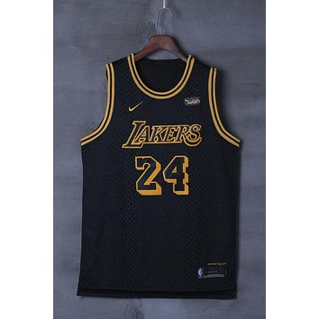 Los Angeles Lakers #24 Kobe Bryant Nike City Edition NBA Jerseys - Best Deal Online