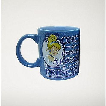 Glitter Always A Princess Cinderella Coffee Mug 20 oz - Disney - Spencer's
