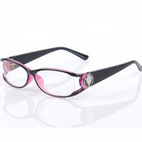 Chashma Brand 2017 Fashionable Anti Radiation Eye Glasses Purple Color Women and Men Computer Glasses