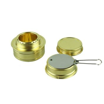 New portable camping spirit stainless steel stove camping stove with stand
