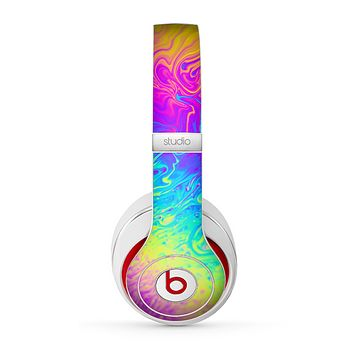The Neon Color Fushion V2 Skin for the Beats by Dre Studio (2013+ Version) Headphones