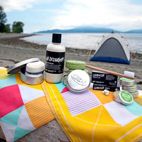 Going camping? Take LUSH with you!