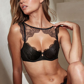 Chantilly Lace High-neck Demi Bra - Very Sexy - Victoria's Secret