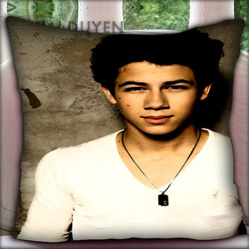 Nick Jonas Vintage - Pillow Cover Pillow Case and Decorated Pillow.