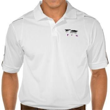Asexuality pride world map map Polo Shirt