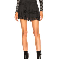 Isabel Marant Marion Skirt in Black | FWRD