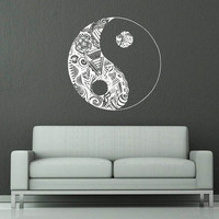 Awesome gift wall vinyl sticker decals from home of stickers for Meuble mural yin yang